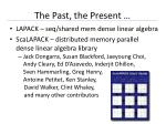 the past the present2