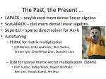 the past the present4