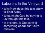 laborers in the vineyard1