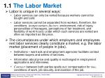 1 1 the labor market