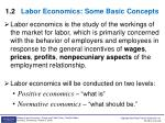 1 2 labor economics some basic concepts