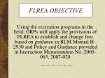 flrea objective