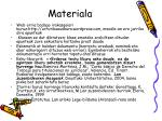 materiala