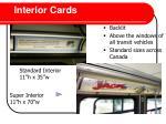 interior cards