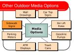 other outdoor media options