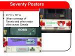 seventy posters