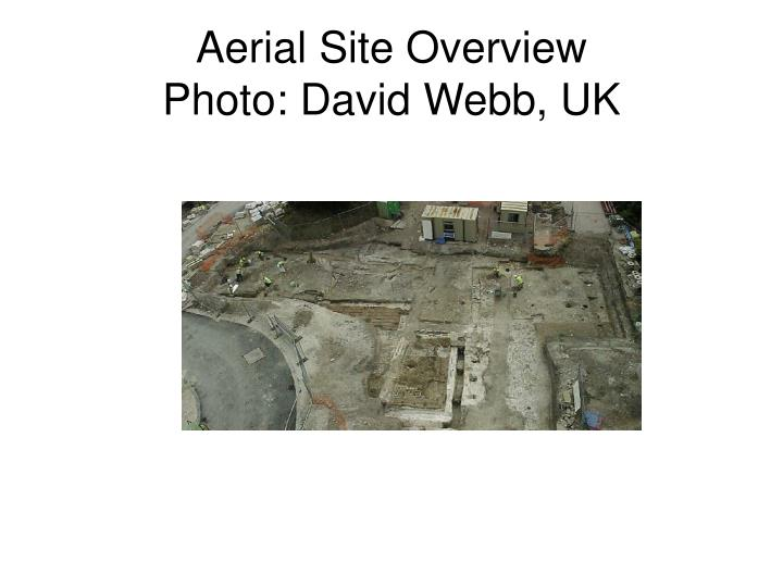 Aerial Site Overview