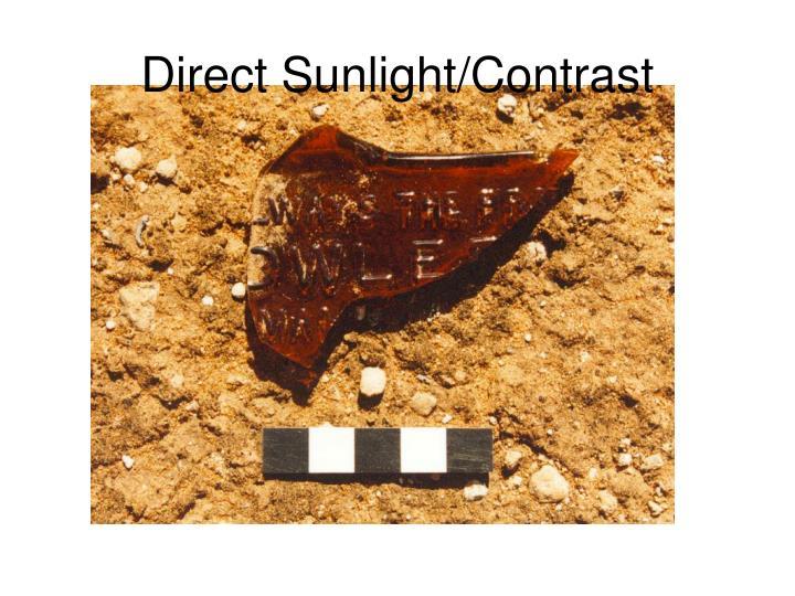 Direct Sunlight/Contrast