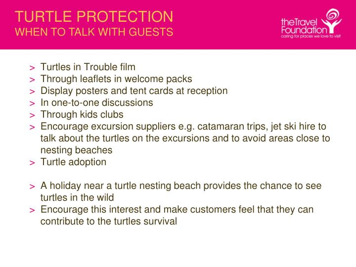 TURTLE PROTECTION