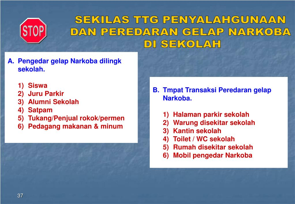 PPT - HIDUP sEHAT TANPA NARKOBA PowerPoint Presentation ...