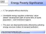 energy poverty significance1