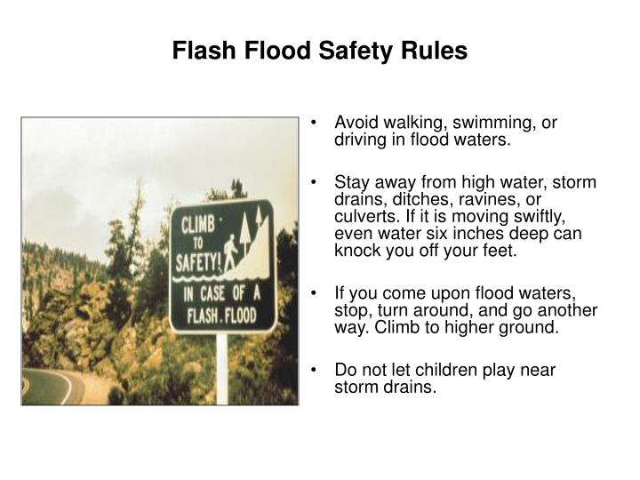 PPT - FLOODS, FLASH FLOODS PowerPoint Presentation - ID ...