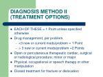 diagnosis method ii treatment options1