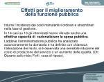 effetti per il miglioramento della funzione pubblica1