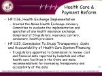 health care payment reform