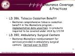 insurance coverage practices