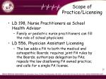 scope of practice licensing3
