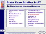 state case studies in at4