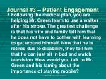 journal 3 patient engagement