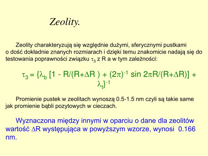 Zeolity.