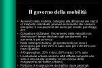 il governo della mobilit