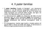 4 il pater familias