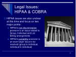 legal issues hipaa cobra1