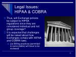 legal issues hipaa cobra2