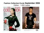 fashion collection kursk september 2008 edition 1 000 copies
