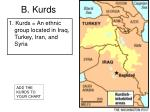 b kurds