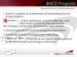 bncd programs