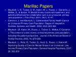 marillac papers