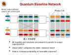 quantum baseline network