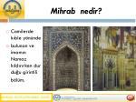 mihrab nedir