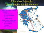 education example greek public school network