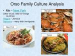 orso family culture analysis