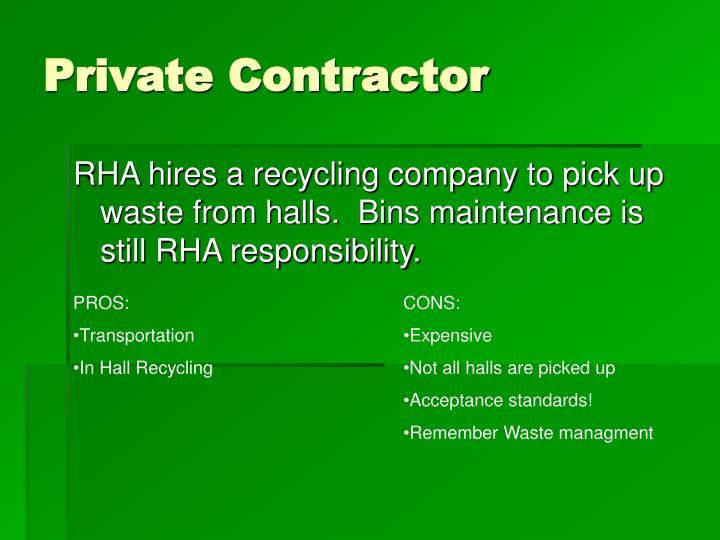 Private Contractor