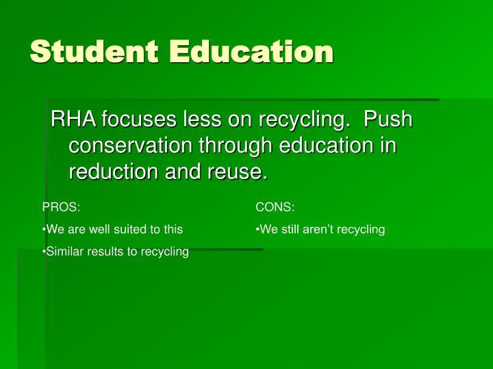 Student Education