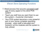 eleven store operating functions6