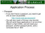 application process1