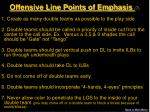 offensive line points of emphasis 7