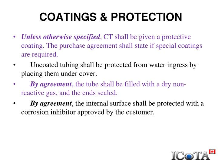 COATINGS & PROTECTION