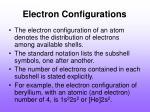 electron configurations3