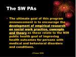 the sw pas
