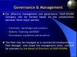 governance management