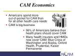 cam economics