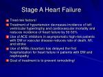 stage a heart failure