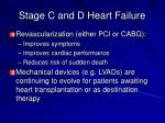 stage c and d heart failure3