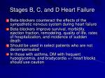 stages b c and d heart failure2
