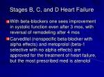 stages b c and d heart failure3
